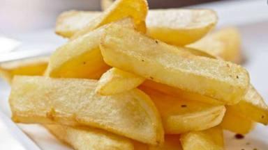 Patatas fritas en su punto
