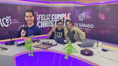 Christian Gálvez recibe una inesperada sorpresa en directo por su 41 cumpleaños