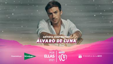 Álvaro de Luna formará parte del elenco de artistas que actuarán en CADENA 100 Por Ellas