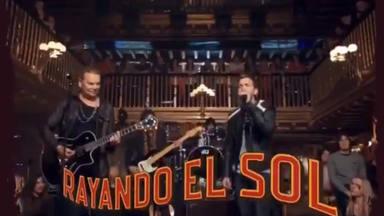 Maná y Pablo Alborán lanzarán una versión de Rayando el Sol