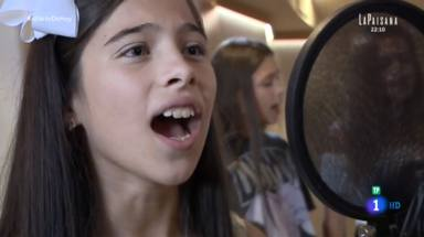 Melani García, representante española en 'Eurovisión junior'
