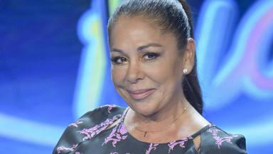 Isabel Pantoja en la presentación de 'Idol Kids', 'talent show' presentado por Jesús Vázquez