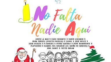 """14 artistas en un villancico solidario: """"No Falta Nadie Aquí """""""