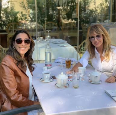 Paz Padilla y Emma García comida de amigas entre confidencias
