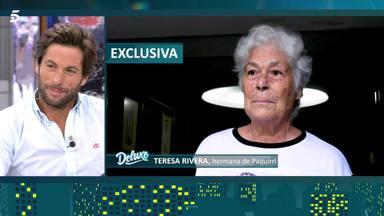 Testimonio de apoyo de Teresa, hermana de Paquirri, a su sobrino Kiko Rivera