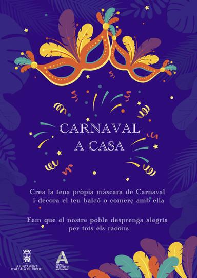 Carnaval a casa