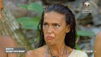 Olga Moreno aguantó otro duro enfrentamiento con Tom Brusse en la isla de Supervivientes