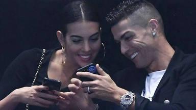 El coche karaoke de Cristiano Ronaldo y Georgina Rodríguez