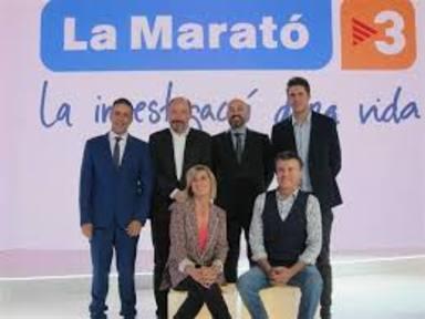 Cadena 100 col·labora amb la Marató de TV3