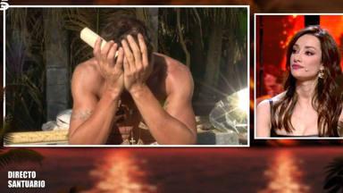 Hugo Sierra sorprende al dejar de un lado su frialdad y romper a llorar en 'Supervivientes': ''Ha sido lo peor