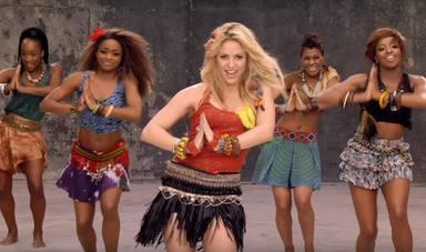 'Waka waka' de Shakira y otras canciones que cumplen 10 años en 2020