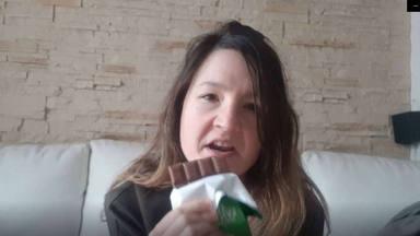 Sara Delgado explica sus comidas en el confinamiento