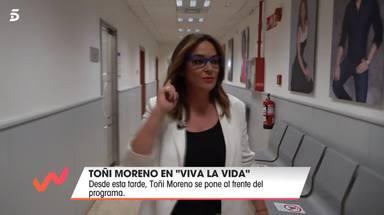 Toñi Moreno comete un imperdonable error en su vuelta a Viva la vida