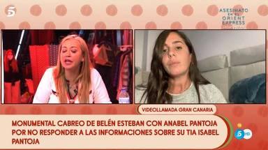 Enfado monumental de Belén Esteban con Anabel Pantoja en Sálvame