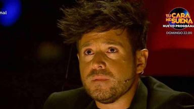 Pablo López llora tras la actuación de Kelly