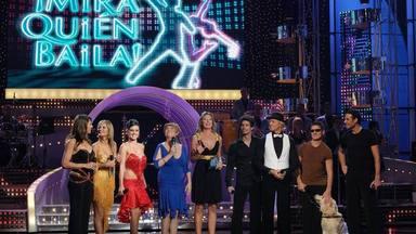Anne Igartiburu presentó el programa Mira quién baila