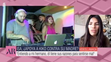 Isa Pantoja habla sobre su hermano y su madre