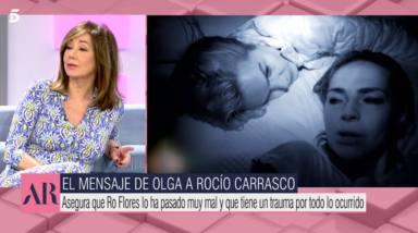 Ana Rosa Quintana se planta y manda un tajante mensaje a Rocío Carrasco: Desde el principio hasta el final