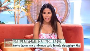 La advertencia de Isa Pantoja a su madre en pleno juicio con Kiko Rivera: Yo también lo pediría