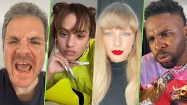 Taylor Swift y otros artistas que arrasan en TikTok: Desde Rosalía a Jason Derulo