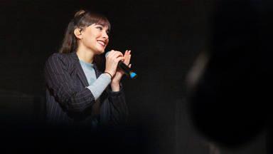 Aitana como artista invitada en un concierto de Morat