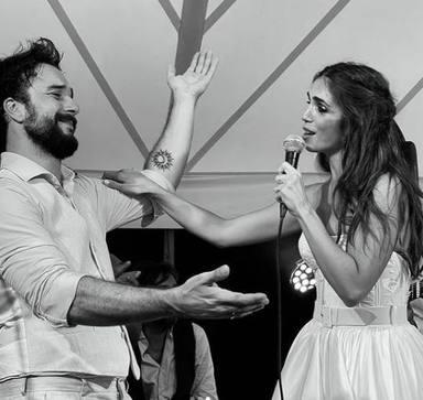 Elena Furiase comparte un bonito recuerdo de su boda con Gonzalo Sierra