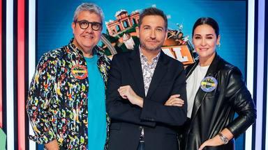 Vicky Martín Berrocal y Florentino Fernández, capitanes de Typical Spanish, el nuievo concurso de TVE