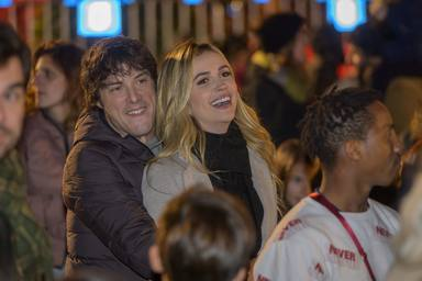Jordi Cruz y su novia Rebeca Lima