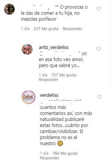 El comentario de mal gusto por el que el marido de Verdeliss ha explotado