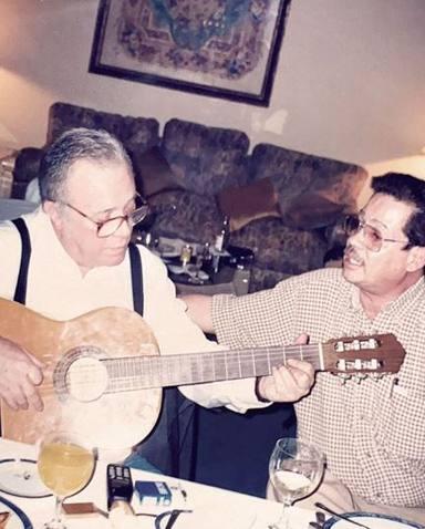 Alejandro Sanz homenajea al padre de Jaydy Michel tras su fallecimiento