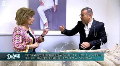 Jorge Javier desenmascara a María Teresa Campos y rompe su relación de más de 20 años con ella