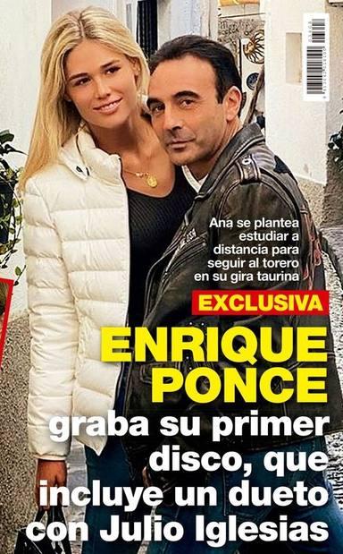 Enrique Ponce tiene grabado su primer álbum
