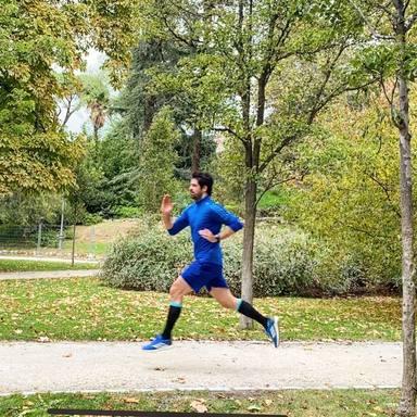 Miguel Ángel Muñoz vuelve a correr tras recuperarse de su lesión de columna