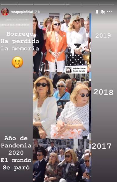 Rosa Benito no se corta y responde a las acusaciones de Carmen Borrego sobre sus ansias de protagonismo