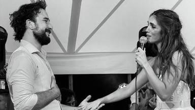 Elena Furiase en una imagen de su boda junto a Gonzalo Sierra, esa a la que no pudo asistir Juan el Golosina