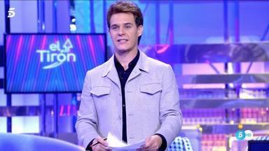 Christian Gálvez en 'El Tirón', sección de 'Sálvame banana'