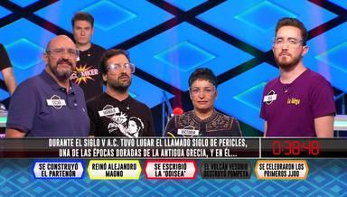 Los Dispersos, Óscar Díaz,Manolo Romero,Victoria FolgueirayMiguel Ángel Gómez, en '¡Boom!'