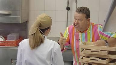 Alberto Chicote en una de sus broncas habituales en Pesadilla en la cocina