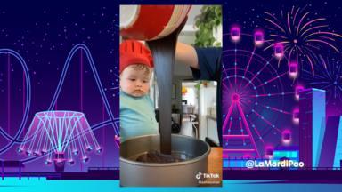 El bebé cocinero que le ha robado el corazón a internet