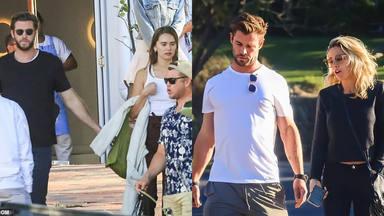 Liam Hemsworth y si chica tienen una cita a cuatro