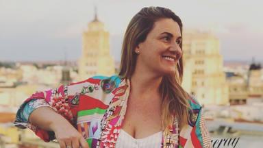 Carlota Corredera, 'cazada' en bañador durante sus vacaciones en Formentera