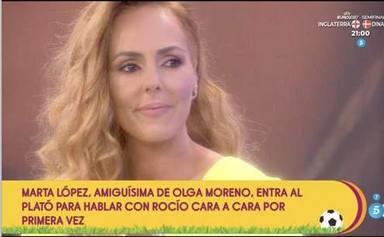 Rocío Carrasco perdona a Belén Esteban y le agradece su apoyo en Sálvame