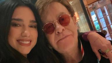 El dúo británico que no te esperabas: Dua Lipa y Elton John lanzan 'Cold hearth'