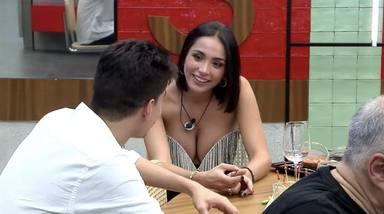 Sandra Pica se confiesa con Julen sobre su último affaire con Tom Brusse que ha enfadado a Melyssa Pinto