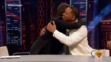 Pablo Motos y Will Smith en 'El Hormiguero'