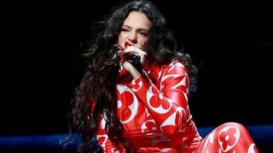 Rosalía prepara la gala de los GRAMMY 2020 en Los Ángeles (EEUU)