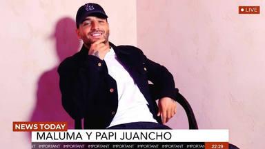 Maluma cara a cara con Papi Juancho en su entrevista más personal