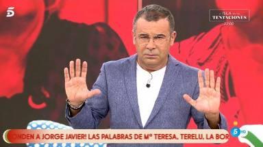 Jorge Javier contra Terelu Campos, Carmen Borrego y Alejandra Rubio