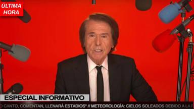 """""""Debería anunciar esto a lo Matías Prats"""", dice Raphael en un misterioso vídeo-mensaje"""