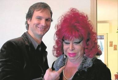Javier Cárdenas y Carmen de Mairena